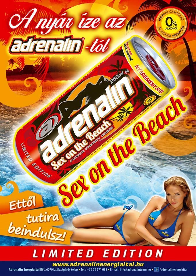 Sex on the beach energy shot