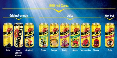 big-shock-serie-original-energy-fruit-non-cola-tea-exotic-orange-gold-watermelon-cherry-apple-fruity-cans