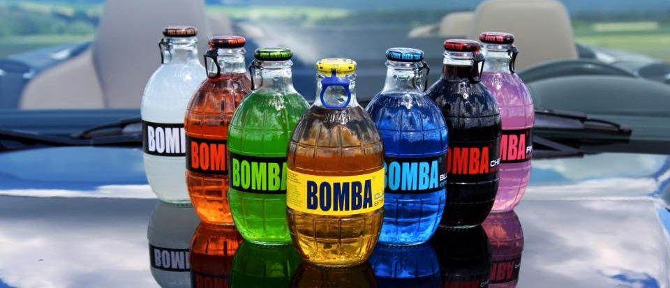 Bomba! ve skleněné láhvi o tvaru granátu vstupuje na CZ trh ... d1115bb42c