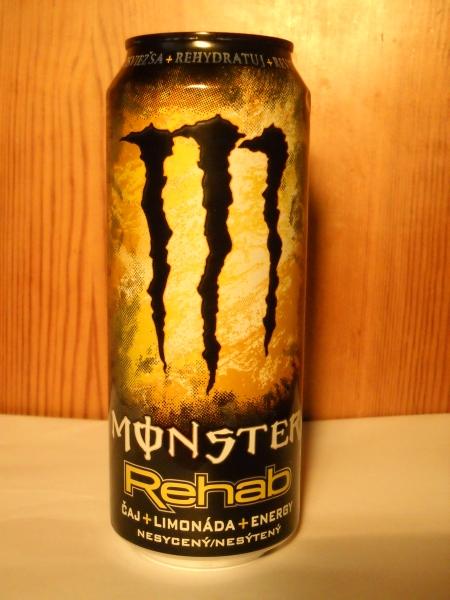 Monster Rehab Lemonade konečně vyrazil do obchodů! - Novinky ze ... 9eba36294f