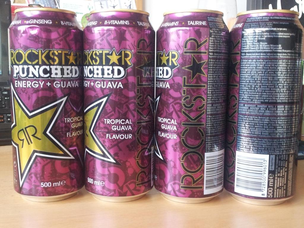 Rockstar Guava přechází do plechu! - Novinky ze světa energy drinků cdd34d8cc7
