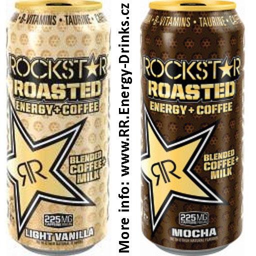 Rockstar Roasted Light Vanilla A Mocha Opět V Novém Kabátku